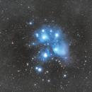 M45 - The Pleiades,                                nerdybeardo