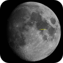 Moon (with Apollo 11 landing site),                                Daniel Tackley