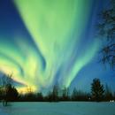Sunset Aurora from Finnish Lapland,                                Daniele Gasparri