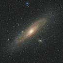 M31: WO Redcat 51,                                Andrew Burwell