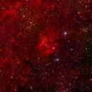 Sh2 135 H-alpha RGB,                                jerryyyyy