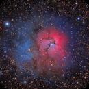 The Trifid Nebula, Messier 20,                                rveregin