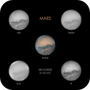 Mars IR-RGB - 8/10/2020,                                Tristan Campbell
