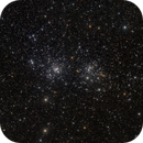 Double Cluster Caldwell 14 mosaic,                                Barry Wilson
