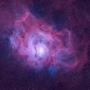 M8 in Natural Narrowband,                                Andy 01