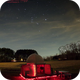 Orion, The Hunter rising over my Observatory,                                John O'Neal, NC S...