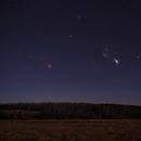 Orion above Table mountain WA,                                Yuriy Oseyev