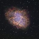 M1 - Crab Nebula - Liverpool Telescope HaRVB :-),                                Daniel Nobre