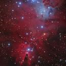 Cone Nebula in Monoceros,                                Steve Milne