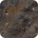 Panoramic Mosaic - Taurus Cloud LBN782 to M45,                                Jim Lindelien