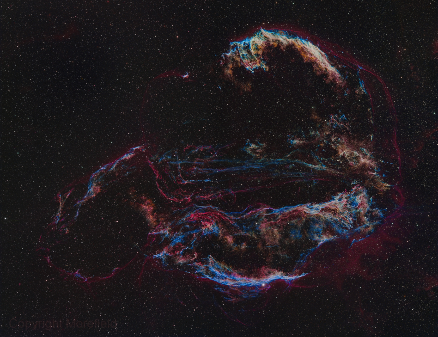 Cygnus Loop | The Whole Ear - Lobe and All,                                Kevin Morefield