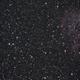East of the Rosette Nebula NGC 2244(薔薇星雲),                                astropical