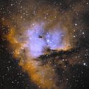 IC11 NGC281 Pac man nebula,                                Holger Meißner