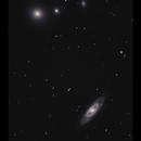 NGC4274, 4278, 4283 & 4286,                                Göran Nilsson