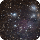 NGC 2170 and others in Monoceros,                                Nurinniska