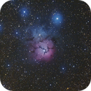 M 20 - Trifid Nebula,                                Ron