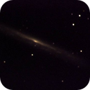 reprocessing old 2004 images - 15 60 sec exposures on ngc5907 with a C8 and an MX7C,                                Stefano Ciapetti