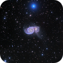 M51 - Whirlpool Galaxy and Neighborhood,                                Dan Broyles