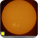 The solar disc in H-alpha, ZWO ASI290MM, 20201128,                                Geert Vandenbulcke