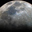 Moon in Color - 20210520 - Celestron C6 at F4.6,                                altazastro