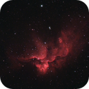 The Wizard Nebula in HaRGB,                                Trevor Jones