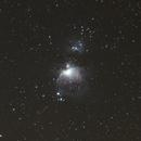 Great Orion Nebula,                                Travishv