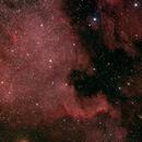 North American Nebula,                                Tak-106