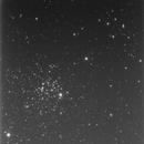 M52 open cluster, survey image,                                erdmanpe