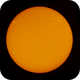 Sun with 2 Active Regions,                                Chappel Astro