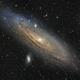 M31 Andromeda galaxy (LRGB),                                Thibault Sandre