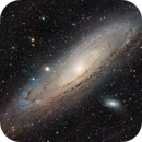 M31 HaLRGB 2-panel mosaic,                                Tim Gillespie