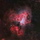 Messier 17 en HOO,                                Georges
