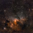 Caldwell 9 - Cave Nebula,                                Dale Hollenbaugh