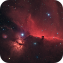 The Horsehead, Barnard 33 in Ha(HaR)GB,                                Madratter