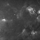 NGC 7380, Bubble & Cave & Lobster .. Halpha-Widefield,                                Jonas Illner