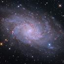 Triangulum-Galaxy,                                Zoltán Bach