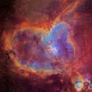 IC 1805 - Heart Nebula SHO with Planetary Nebula :-),                                Daniel Nobre