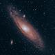Andromeda Galaxy (M31 and M110),                                Joel Donovan
