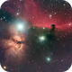Horsehead and Flame Nebulas in Orion v2,                                Patrick Hsieh