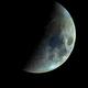 Waxing Crescent in colour,                                Bert Scheuneman