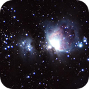 First takes of Orion nebula M42,                                Starlight Hunter