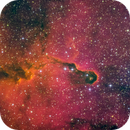 IC 1396 Elephant's Trunk Narrowband A public data pool created by BigScott_27,                                Miles Zhou