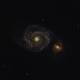 Messier 51 - Whirlpool Galaxy,                                Emre Erkunt