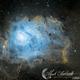 M8 Lagoon Nubula in SHO Narrow Band,                                Mark Forteath