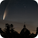 Castle Towers & Comet Neowise,                                pete_xl