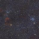 Messier 35 and Jellyfish Nebula,                                tgigl