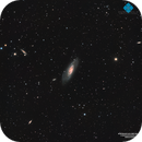 M106 Galaxy & Co. deep field,                                Francesco di Biase