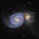 Whirlpool Galaxy,                                robbeh