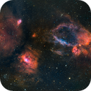 Crowded Cassiopeia (Sh2-162, Sh2-157, M52, and more),                                Gary Lopez