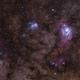 Lagoon and Trifid - M8-M20 Nebulae - Reprocessed,                                Gabriel R. Santos...